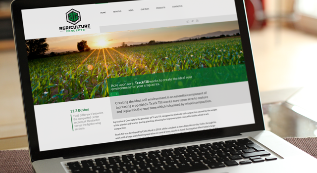Agriculture Concepts Website
