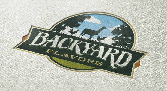 Backyard Flavors Identity and Packaging