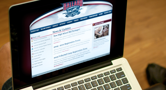 Ballard Bombers Website