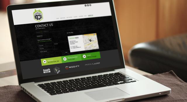 Crossfit 80•35 Website