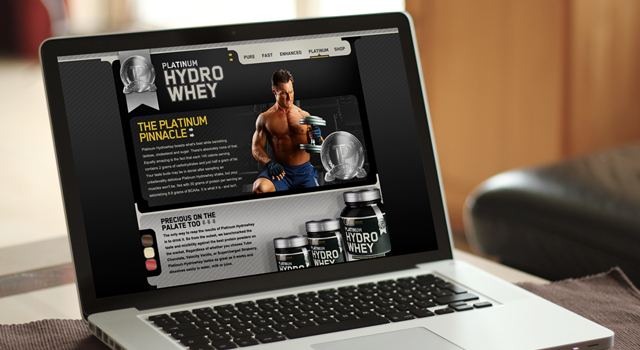 Optimum Nutrition Platinum Hydro Whey website