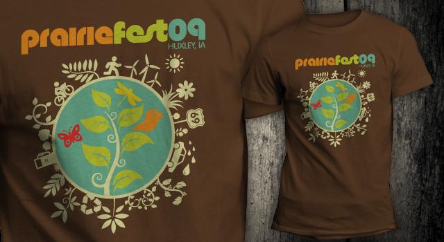 Huxley Prairie Festival T-Shirts