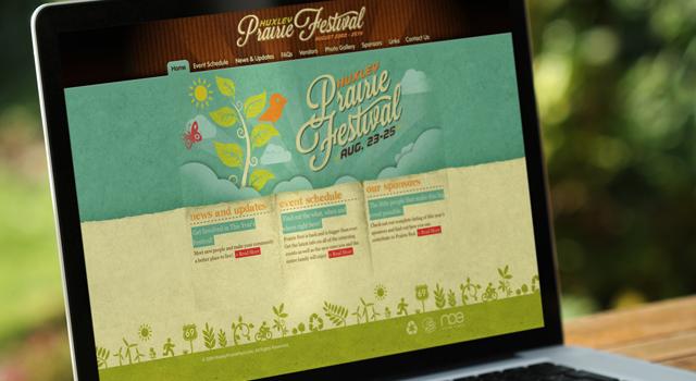 Huxley Prairie Festival Website