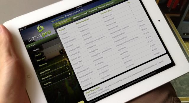 ScoutPro iPad App